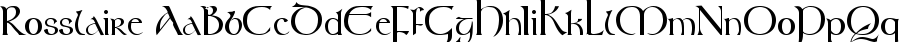 rosslaire Font