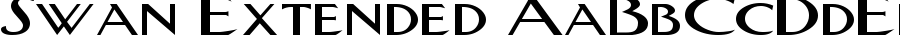swan extended Font